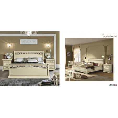 Camelgroup Torriani Avorio спальня - Фото 7