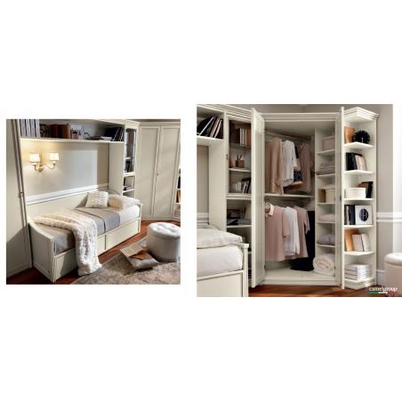Camelgroup Nostalgia Bianco Antico спальня - Фото 16