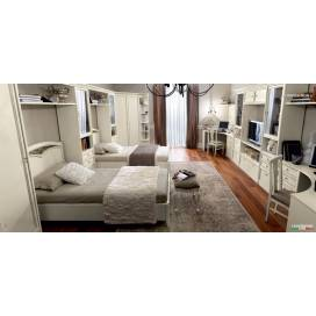 Camelgroup Nostalgia Bianco Antico спальня - Фото 17