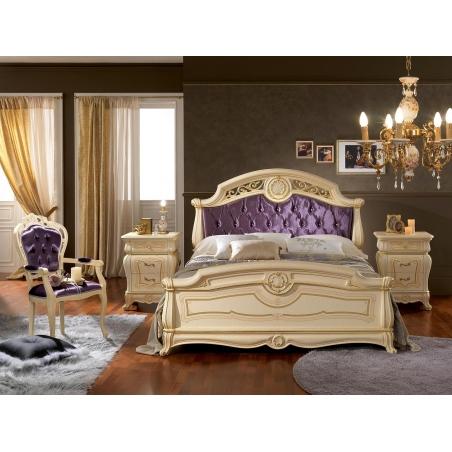 Mobilpiu Ducale patinata beige спальня - Фото 4