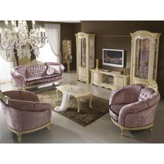 Mobilpiu Ducale patinata beige гостиная