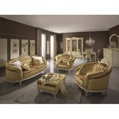 Mobilpiu Ducale patinata beige гостиная - Фото 3