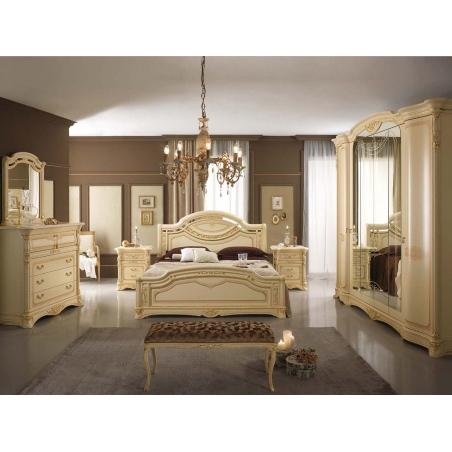Mobilpiu Regina patinata спальня - Фото 7