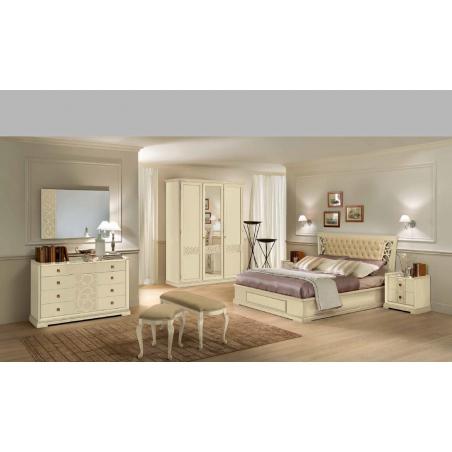 Aritali Rosanna Avorio спальня - Фото 6
