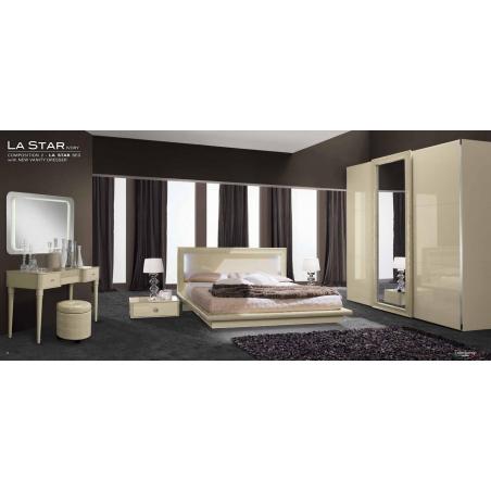 Camelgroup La Star Ivory спальня - Фото 4