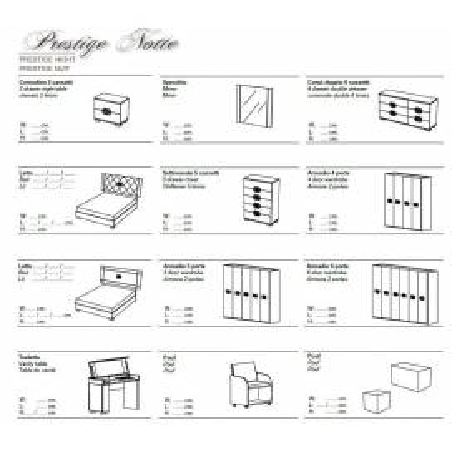 Status Prestige Notte спальня - Фото 6