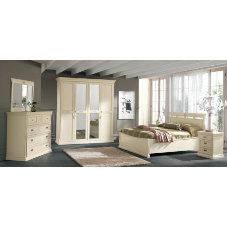 Maronese Venere avorio спальня - Фото 9