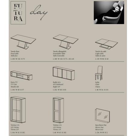Status Futura Gray гостиная - Фото 9