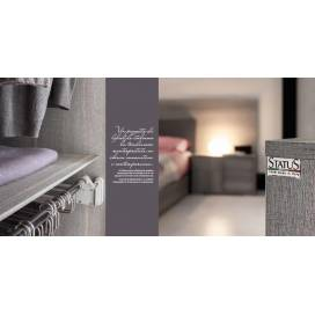 Status Futura Gray спальня - Фото 3