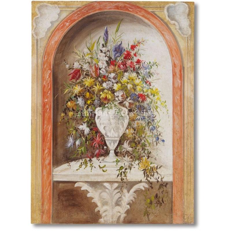 Фрески Mariani Affreschi цветы, натюрморты, декоративные элементы