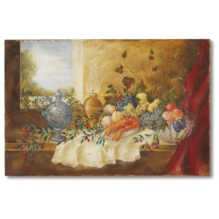 Фрески Mariani Affreschi цветы, натюрморты, декоративные элементы - Фото 9