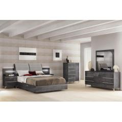 Status Elite grey спальня