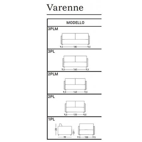 Dienne salotti Varenne раскладной диван - Фото 6