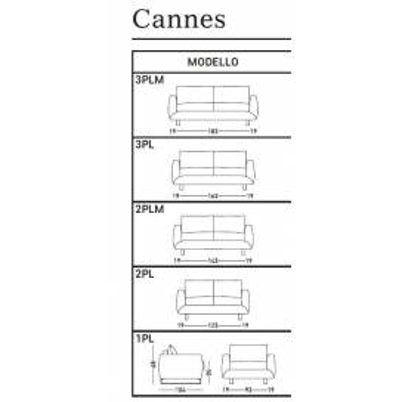 Dienne salotti Cannes раскладной диван - Фото 5