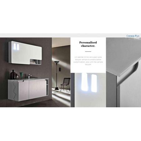 Cerasa Modern мебель для ванной - Фото 15