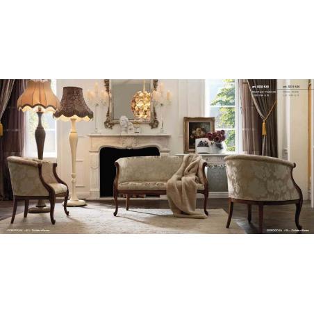 Giorgio Casa Giulietta e Romeo мягкая мебель - Фото 24