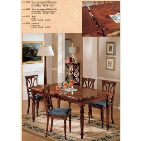 BL Mobili обеденные столы - Фото 4