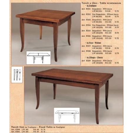 BL Mobili обеденные столы - Фото 8