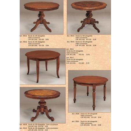 BL Mobili обеденные столы - Фото 14