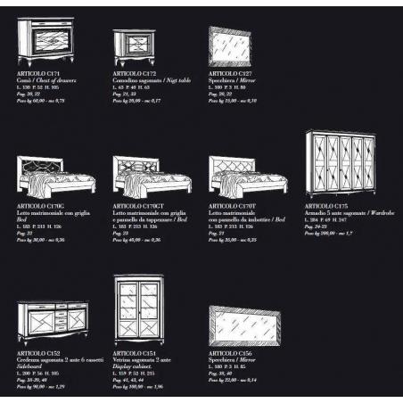 BL Mobili Chanel спальня - Фото 12