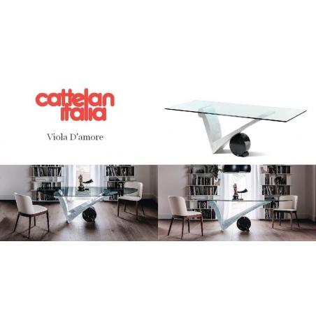 Cattelan Italia обеденные столы - Фото 3