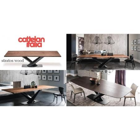 Cattelan Italia обеденные столы - Фото 4