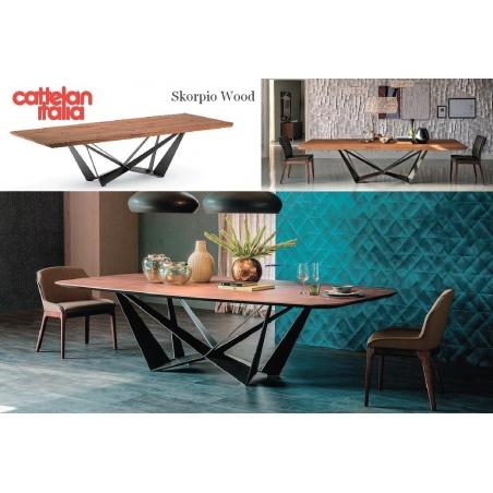 Cattelan Italia обеденные столы - Фото 6