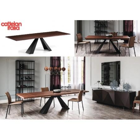Cattelan Italia обеденные столы - Фото 14
