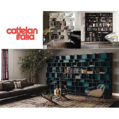 Cattelan Italia стеллажи, библиотеки - Фото 2
