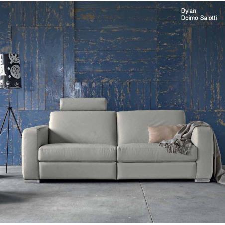 Doimo Salotti кожаные диваны серии Easychic - Фото 1