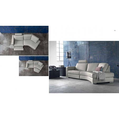 Doimo Salotti кожаные диваны серии Easychic - Фото 4