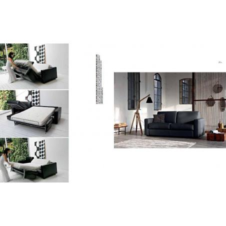Doimo Salotti кожаные диваны серии Easychic - Фото 7