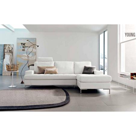 Doimo Salotti кожаные диваны серии Easychic - Фото 10