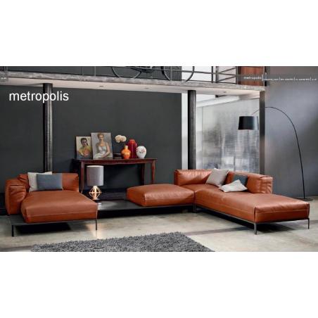 Doimo Salotti кожаные диваны серии Emporio - Фото 4