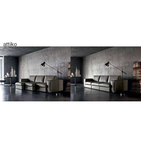 Doimo Salotti кожаные диваны серии Emporio - Фото 9