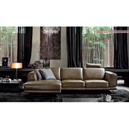 Doimo Salotti кожаные диваны серии Emporio - Фото 21
