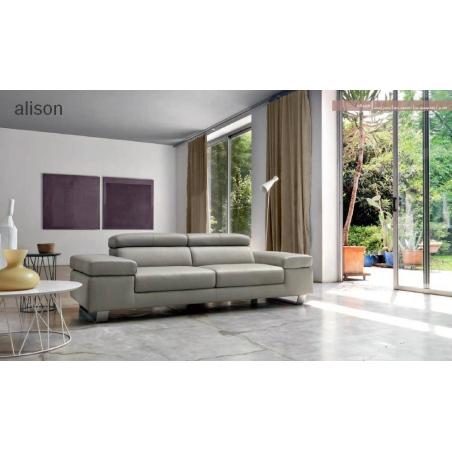 Doimo Salotti кожаные диваны серии Emporio - Фото 24