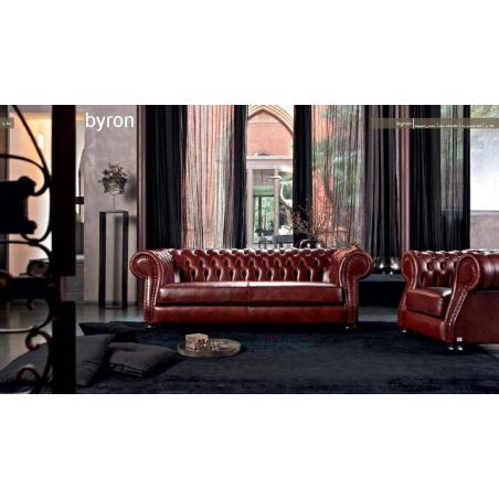 Doimo Salotti кожаные диваны серии Emporio - Фото 31