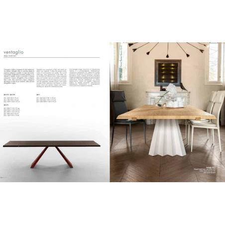 Tonin Casa обеденные столы - Фото 29