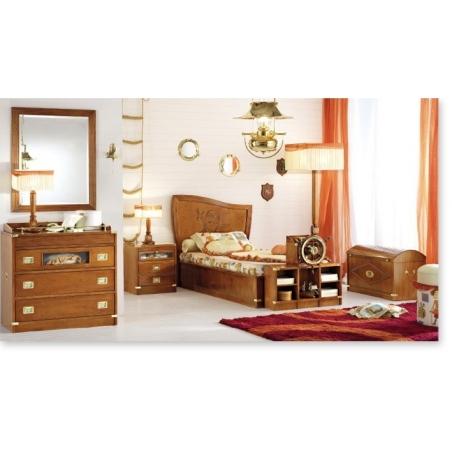Caroti Vecchia Marina мебель для детской комнаты - Фото 9