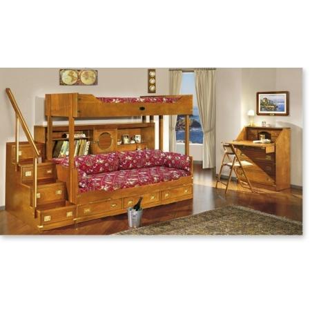 Caroti Vecchia Marina мебель для детской, двуспальные кровати - Фото 1