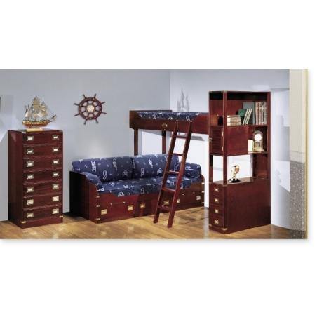 Caroti Vecchia Marina мебель для детской, двуспальные кровати - Фото 2