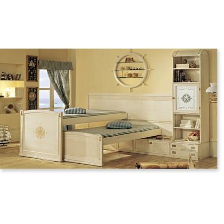 Caroti Vecchia Marina мебель для детской, двуспальные кровати - Фото 4