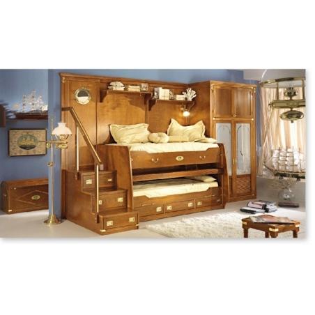 Caroti Vecchia Marina мебель для детской, двуспальные кровати - Фото 5