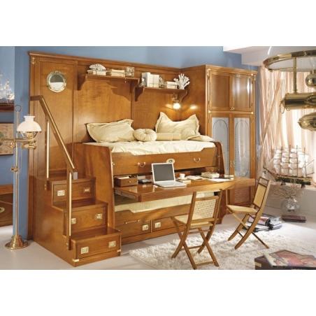Caroti Vecchia Marina мебель для детской, двуспальные кровати - Фото 6