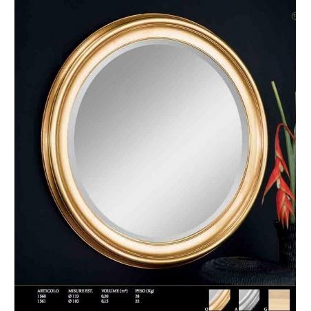 Euromobilit Зеркала круглые и овальные классика - Фото 1