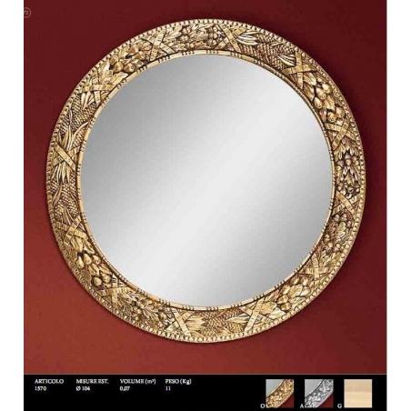 Euromobilit Зеркала круглые и овальные классика - Фото 2