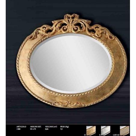 Euromobilit Зеркала круглые и овальные классика - Фото 3