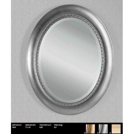 Euromobilit Зеркала круглые и овальные классика - Фото 8