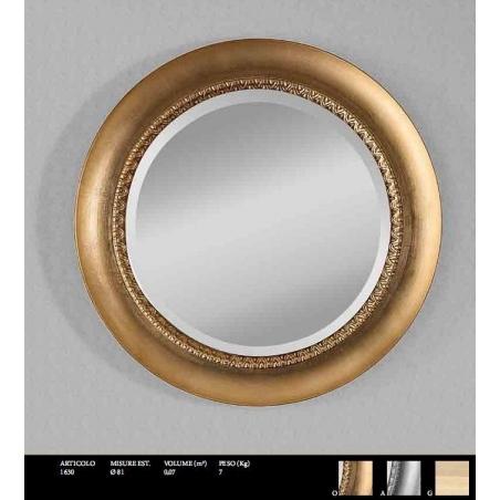 Euromobilit Зеркала круглые и овальные классика - Фото 9
